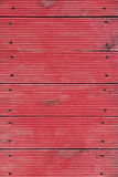 Tła składać się z czerwone być ubranym deski i gwoździe fotografia royalty free