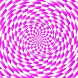 Tła składać się z kolorów abstrakcjonistyczni elementy tworzy promieniowego wzór Obraz Royalty Free