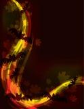 tła skutka Halloween światło ilustracja wektor