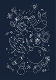 tła symboli/lów xmas royalty ilustracja