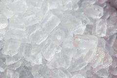 tła sześcianów lód Zdjęcie Stock