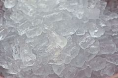 tła sześcianów lód Fotografia Royalty Free