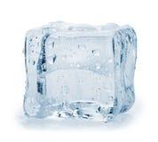 tła sześcianu lodu biel Obraz Royalty Free