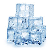tła sześcianu lodu biel fotografia royalty free