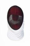 tła szermierzy maski biel Obrazy Stock