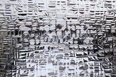 tła szkło konstruował Fotografia Stock