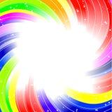 tła tęczy twirl Zdjęcie Royalty Free