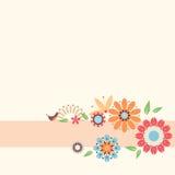 tła tła projektu karty kwiecista ilustracja Fotografia Royalty Free