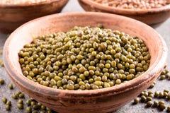 tła tło fasoli jedzenia zieleni serie Fotografia Stock