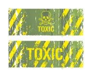tła toksyczni ilustracji