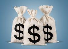 tła torby graficzny grunge wizerunku pieniądze wektor Fotografia Royalty Free