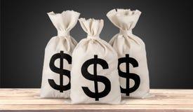 tła torby graficzny grunge wizerunku pieniądze wektor Obraz Royalty Free