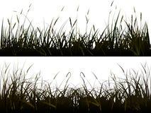 tła trawy łąka realistyczna Ilustracji