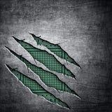 tła układ scalony metal drapający Obrazy Stock