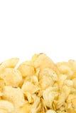 tła układ scalony odosobniony kartoflany biel Zdjęcie Stock