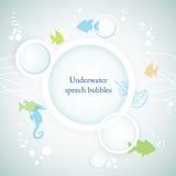 tła underwater Zdjęcie Royalty Free