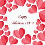 Tła valentine ` s szczęśliwy dzień 10 eps wektor Obrazy Stock