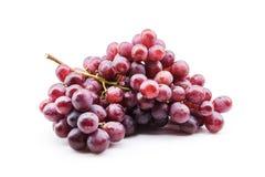 tła wiązki winogrona odosobniony biel Zdjęcia Stock