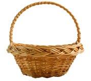 tła wicker koszykowy biały Zdjęcia Stock