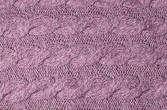tła woolen trykotowy abstrakcyjna zakończenia projektu tła tekstyliów konsystencja w sieci Zdjęcie Royalty Free