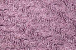 tła woolen trykotowy abstrakcyjna zakończenia projektu tła tekstyliów konsystencja w sieci Obraz Royalty Free