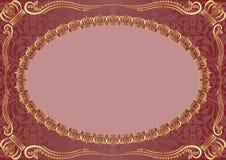 tła złota ornamenty Obraz Stock