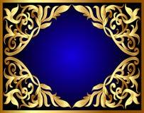 tła złota wzór Zdjęcie Stock