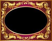 tła złota wzór Fotografia Stock