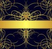 tła złoto Zdjęcia Royalty Free