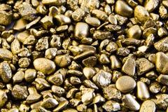tła złoto Fotografia Royalty Free