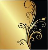 tła złoto Obrazy Royalty Free