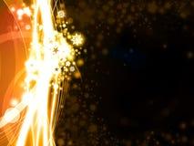 tła złoty gwiazd xmas royalty ilustracja