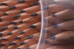 tła zakończenia barwioni ciemni grafitowi ołówki grafitowy Obraz Royalty Free