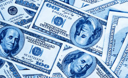 tła zamknięty dolarów pieniądze zamknięty Zdjęcie Stock