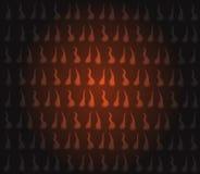 tła zbliżenia ogienia płomieni dym Zdjęcia Stock