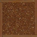 tła zbożowa quinoa czerwień Obrazy Stock
