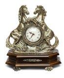 tła zegar odizolowywający przedmiota biel Zdjęcia Royalty Free