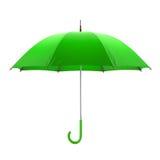 tła zieleni odosobniony parasolowy biel ilustracja 3 d ilustracji