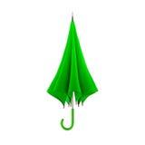 tła zieleni odosobniony parasolowy biel ilustracja 3 d ilustracja wektor