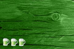 tła zieleni tekstury drewno dzień Patrick s święty Patrick w st g Zdjęcia Stock
