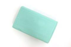 tła zielonego mydła biel Obrazy Royalty Free