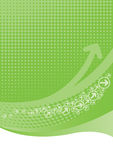 tła zielony halftone wapno Zdjęcia Stock