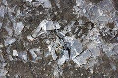 Tło łamany lód obraz stock