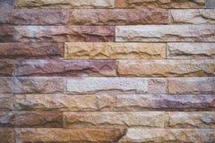 tło ściana ceglana kolorowa Fotografia Royalty Free