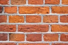 Tło ściana z cegieł Fotografia Royalty Free