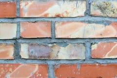 Tło ściana z cegieł Obraz Stock