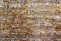 Tło ściana z cegieł Zdjęcia Royalty Free