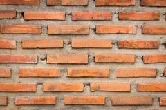 Tło ściana z cegieł Zdjęcia Stock