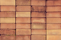 Tło ściana z cegieł tekstura Zdjęcie Royalty Free