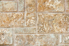 Tło ściana z cegieł tekstura Zdjęcia Stock